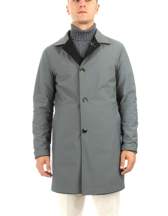 Kired raincoats Grey