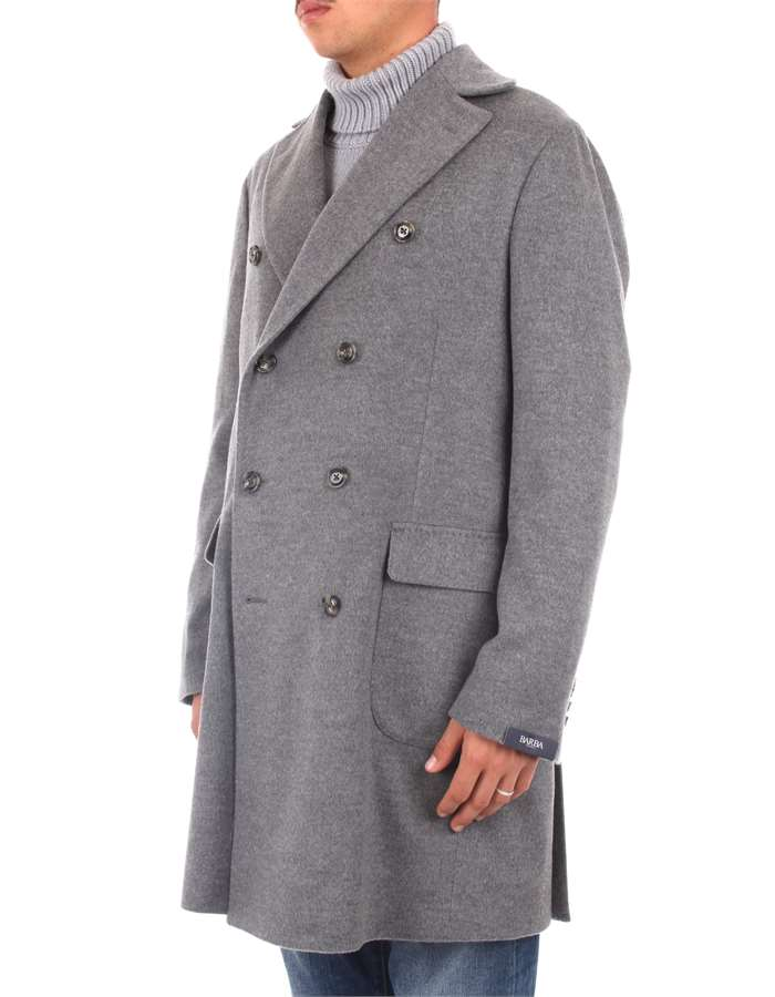 Barba Outerwear Grey