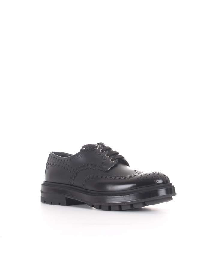 Santoni Laced black