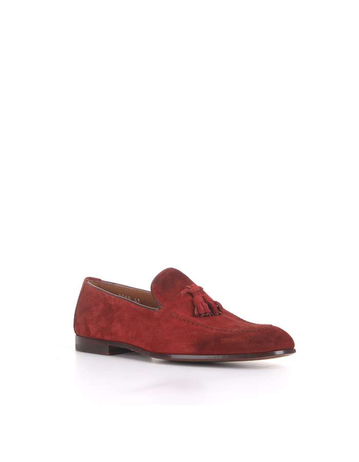 Doucal's Loafers Red