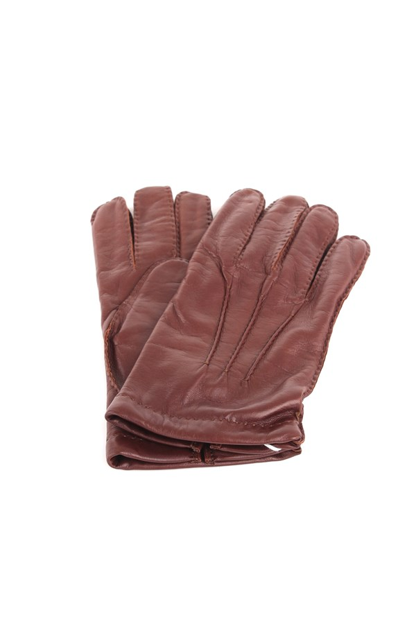 Mario Portolano Gloves Brown