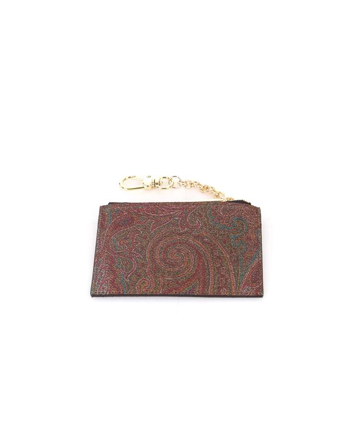 Etro Card Holder Multicolor