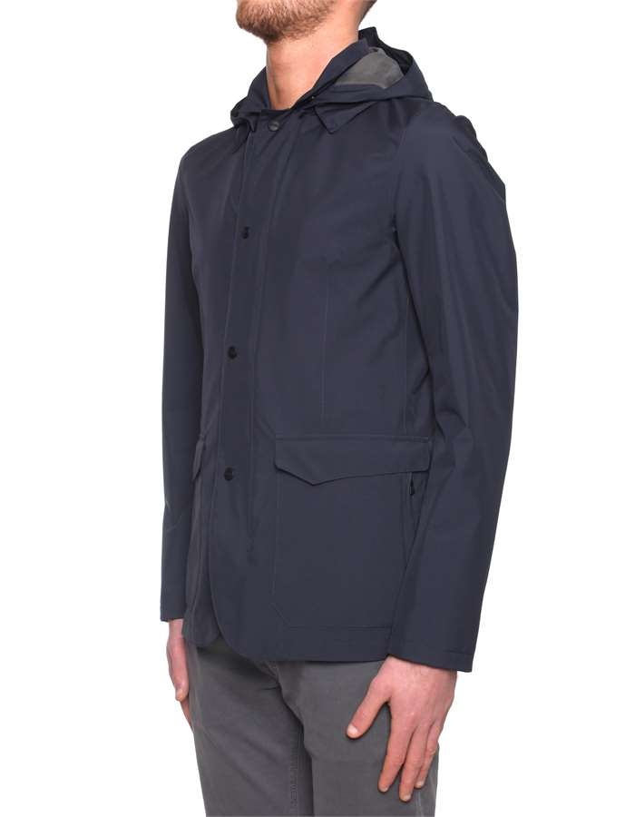 Herno Jackets And Jackets Blue