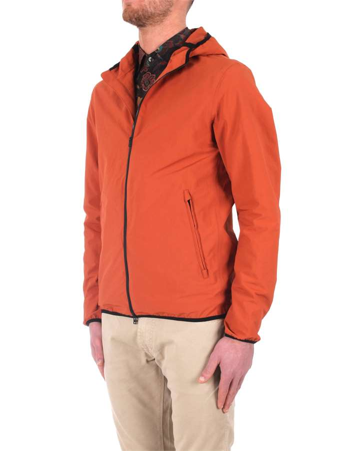 Herno Jackets And Jackets orange