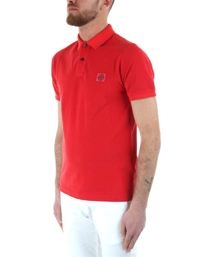 Stone Island Polo shirt Red