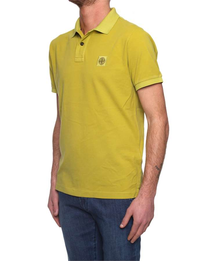 Stone Island Polo shirt Yellow