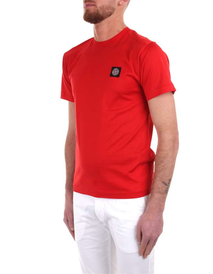 Stone Island T-shirt Red