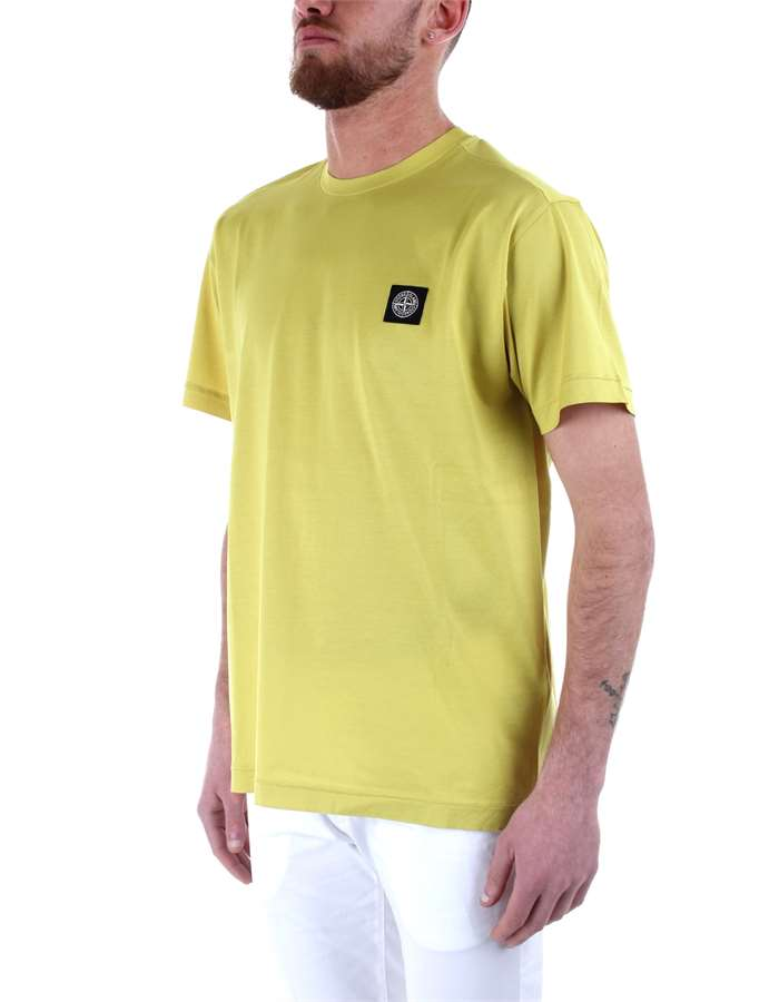 Stone Island T-shirt Yellow
