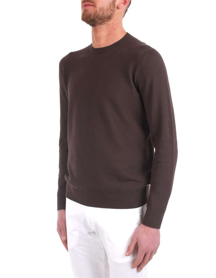 H953 Sweaters Brown