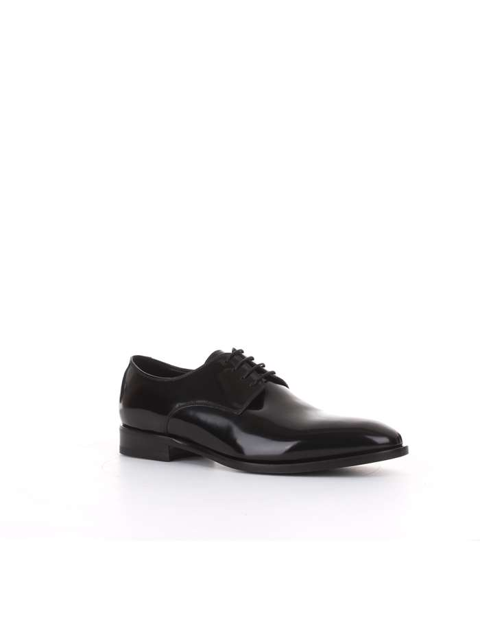 Tagliatore lace-up shoes Black