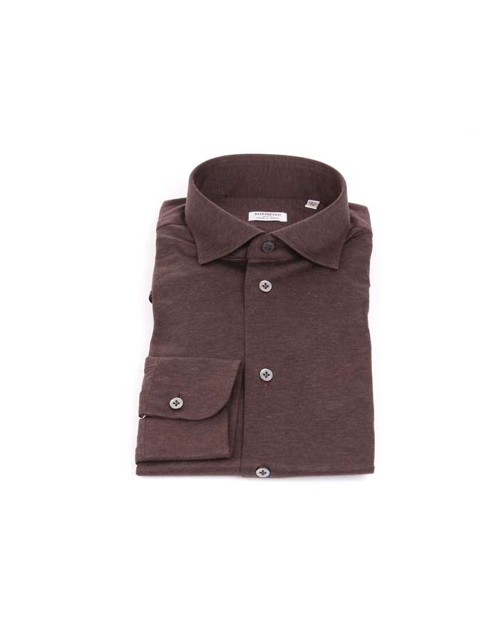 Borriello Shirts Brown