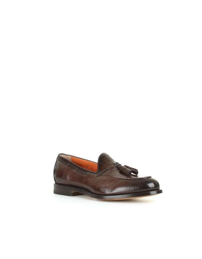 Santoni Loafers Brown