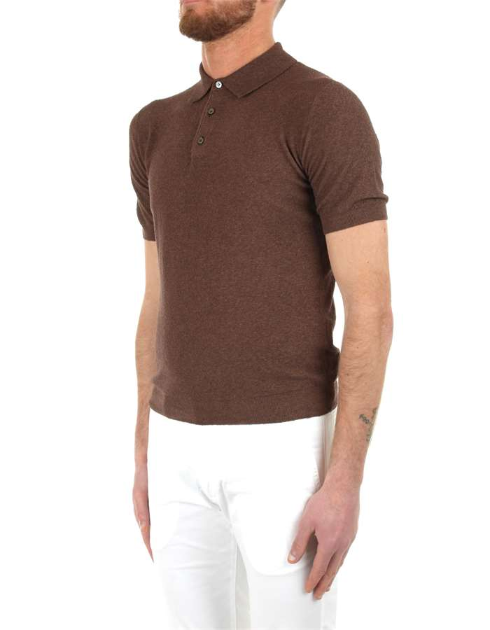 Arrows Polo shirt Brown
