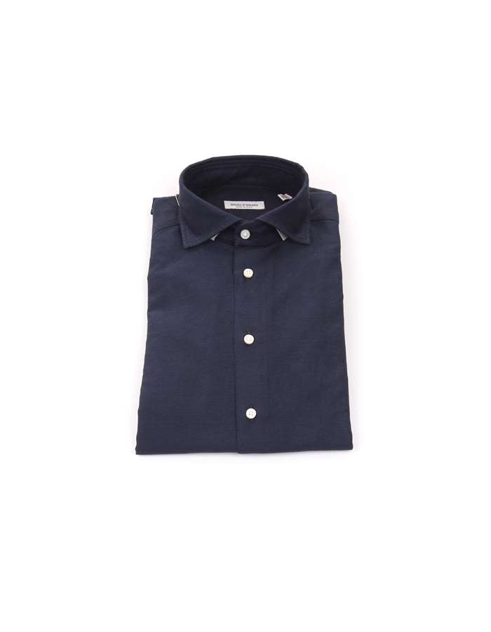 Michi D'amato Shirts Blue