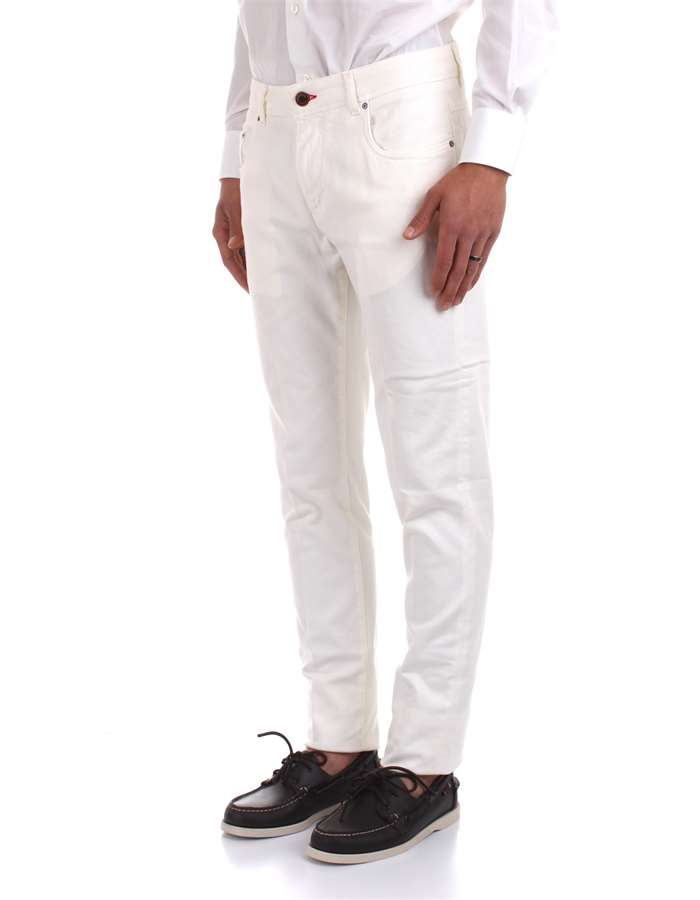 Camouflage Jeans White