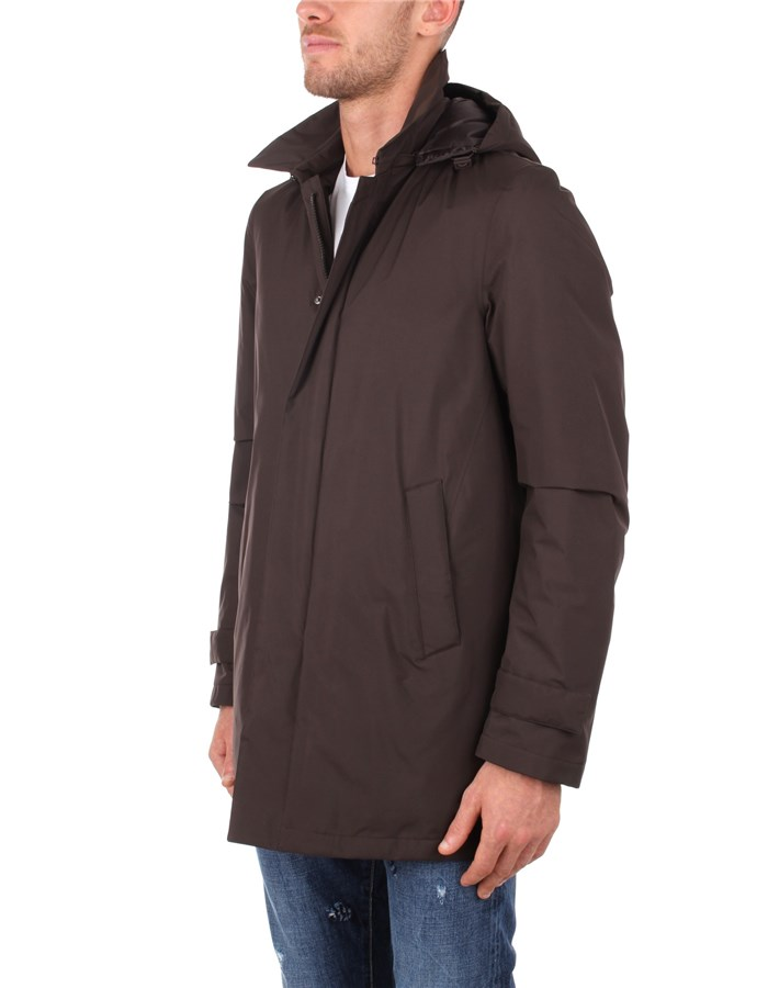 Herno raincoats Brown