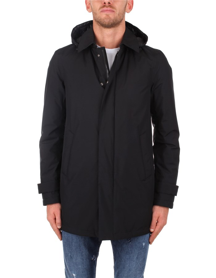 Herno raincoats Black