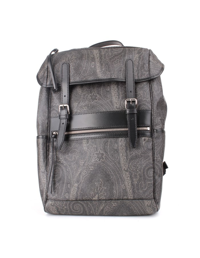 Etro Backpacks Black