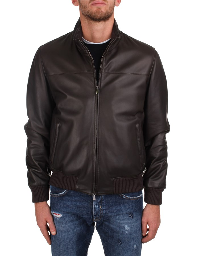 Enrico Mandelli Jackets And Jackets 5216 Brown