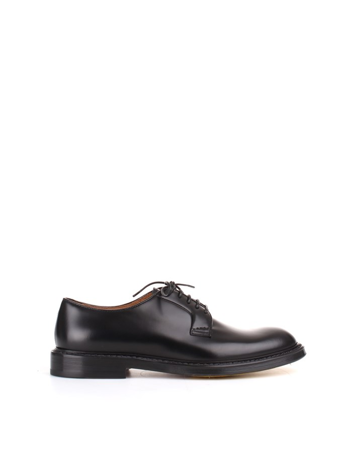 Doucal's lace-up shoes Black