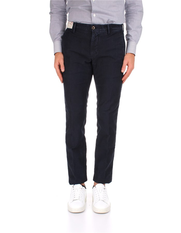 Incotex Trousers 11S103 40611 Blue