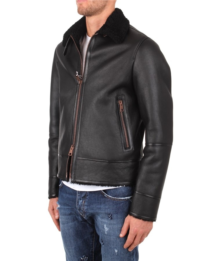 Tagliatore Jackets And Jackets Black