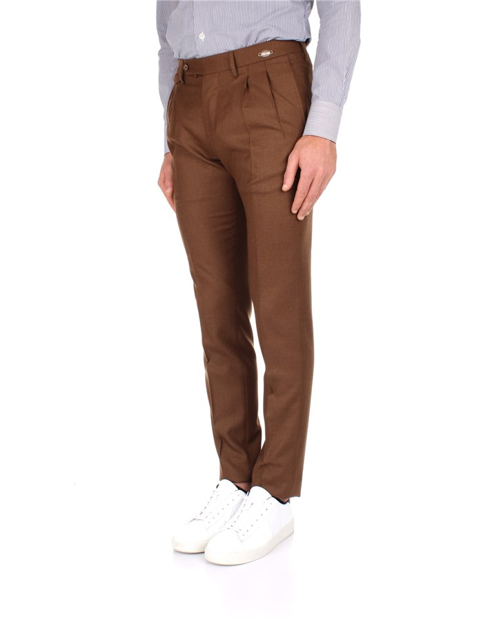 Tagliatore Trousers Brown