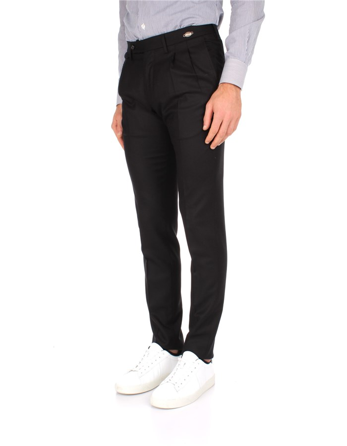 Tagliatore Trousers Black
