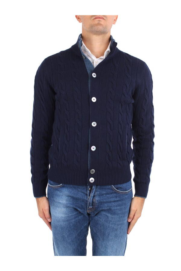 La Fileria Cardigan Blue