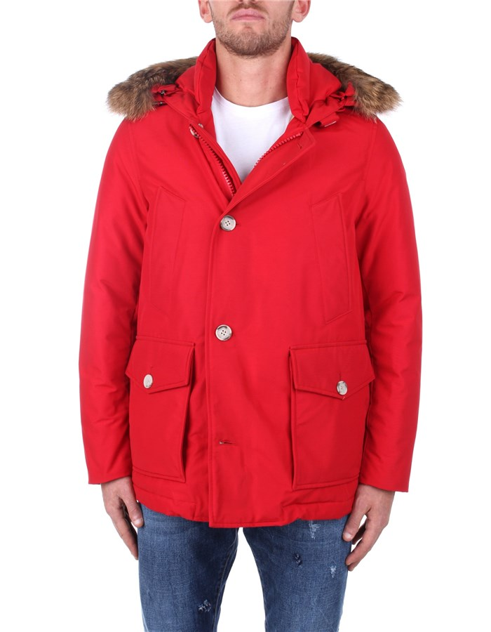 Woolrich Jackets And Jackets WOCPS2896 Red