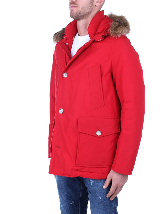 Woolrich Jackets And Jackets Red