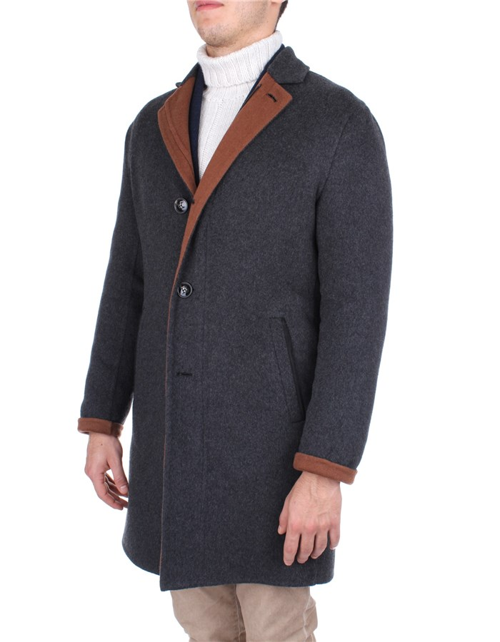 Kiton Outerwear Grey