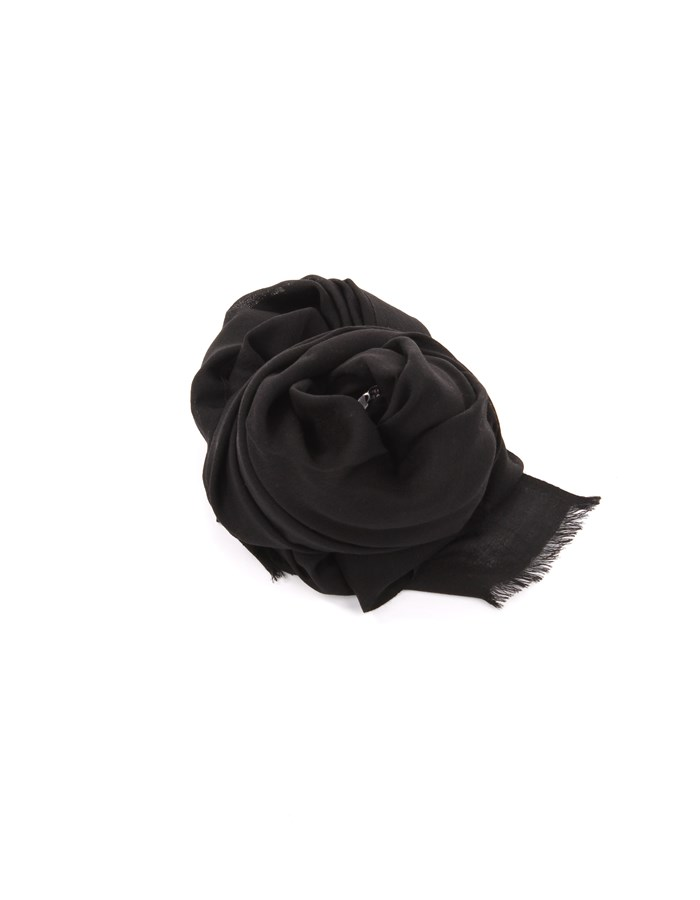Michi D'amato Scarves, Scarves and Stoles Black