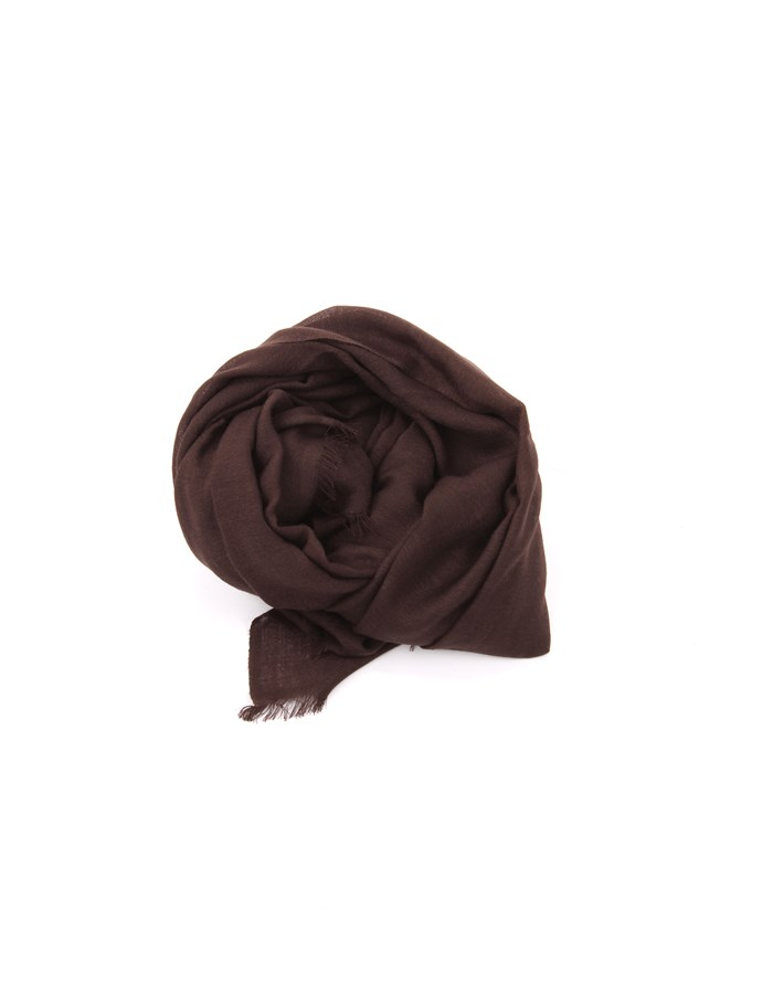 Michi D'amato Scarves, Scarves and Stoles Brown