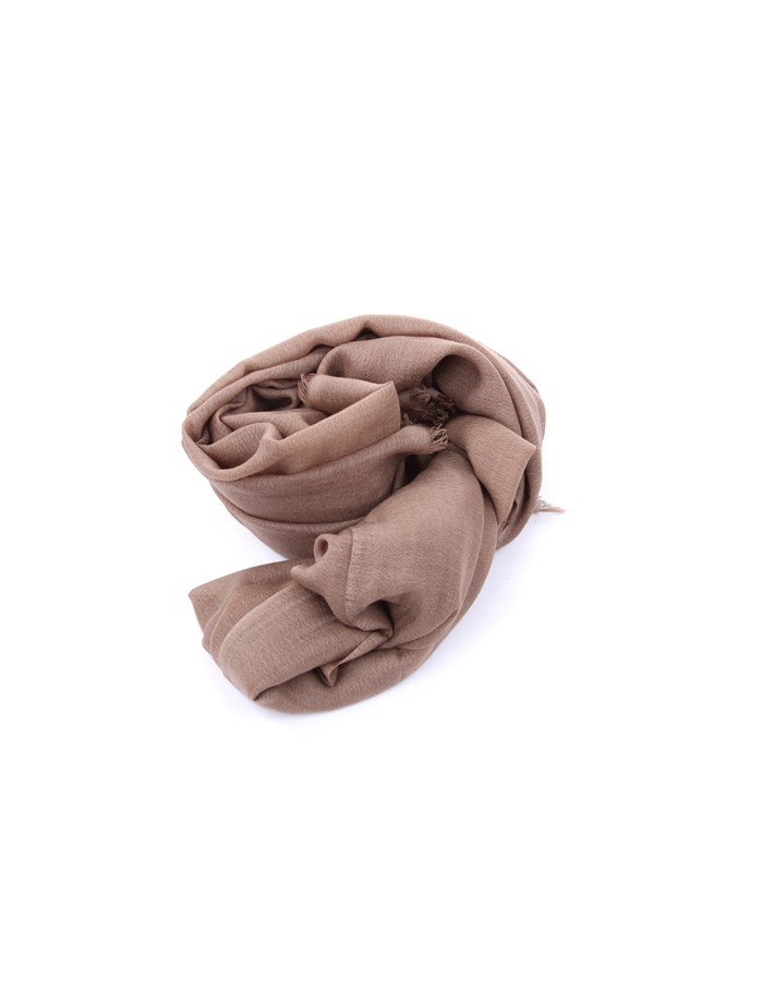 Michi D'amato Scarves, Scarves and Stoles Beige