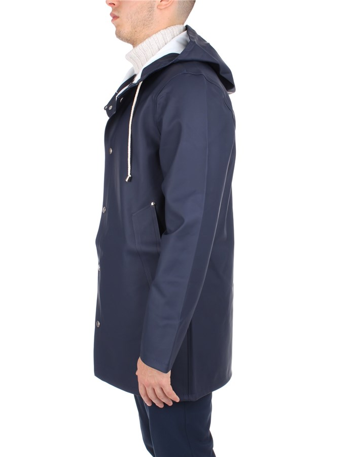 Stutterheim raincoats Blue
