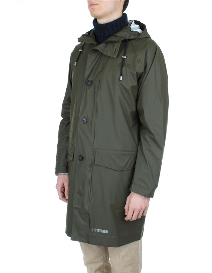 Stutterheim raincoats Green