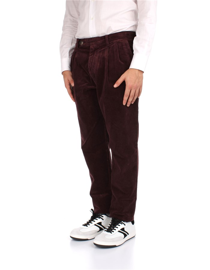 Eleventy Trousers Red