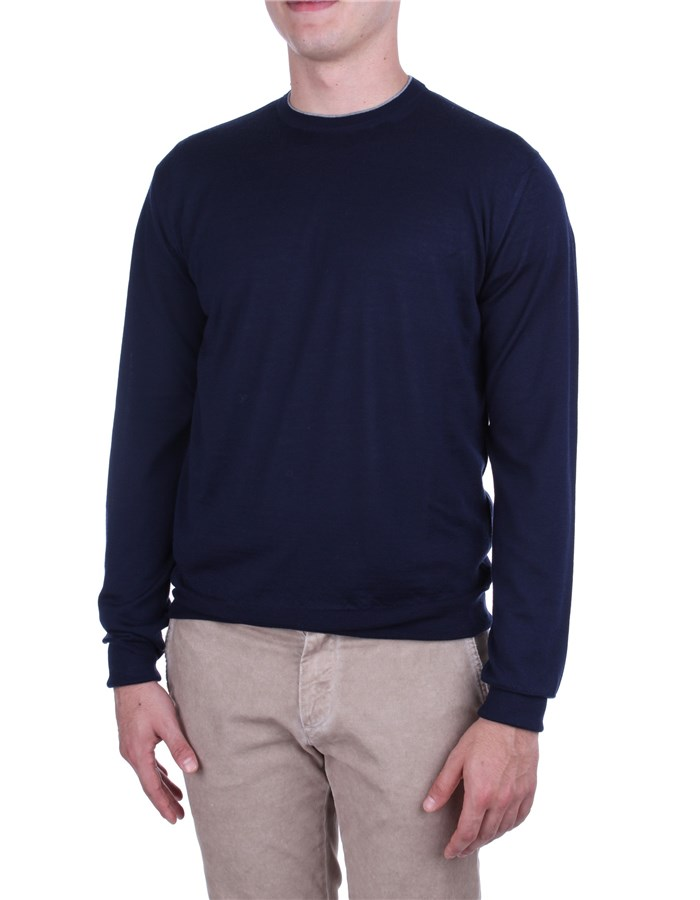 Eleventy Sweaters Blue