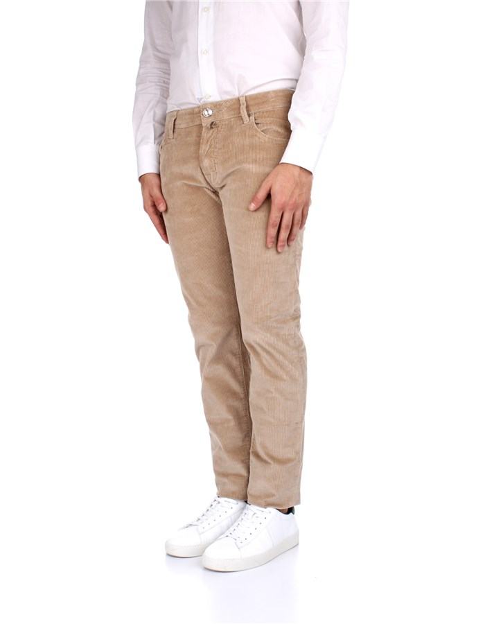 Jacob Cohen Trousers Beige