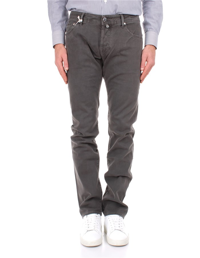 Jacob Cohen Trousers Grey