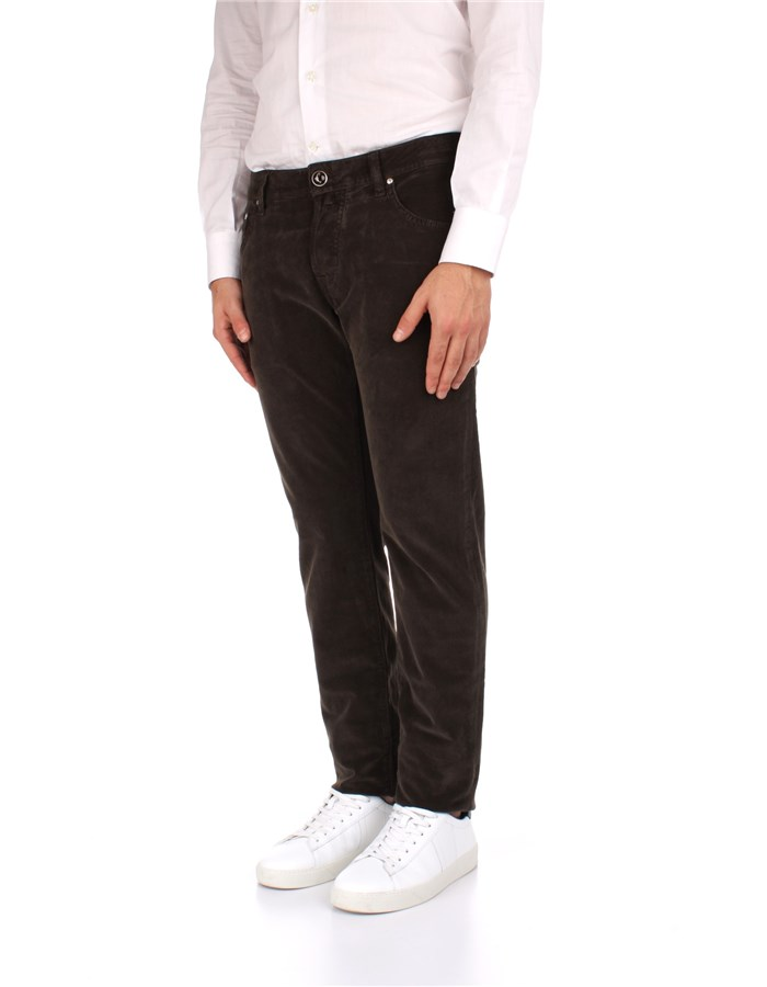 Jacob Cohen Trousers Brown