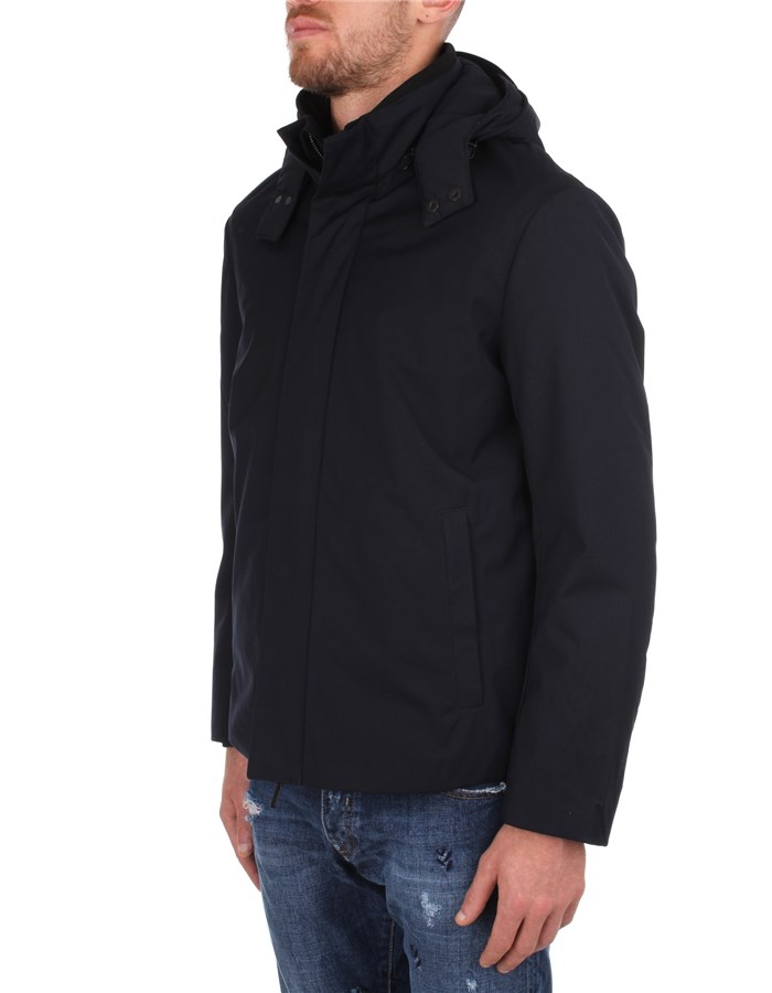 Emporio Armani Jackets And Jackets Blue