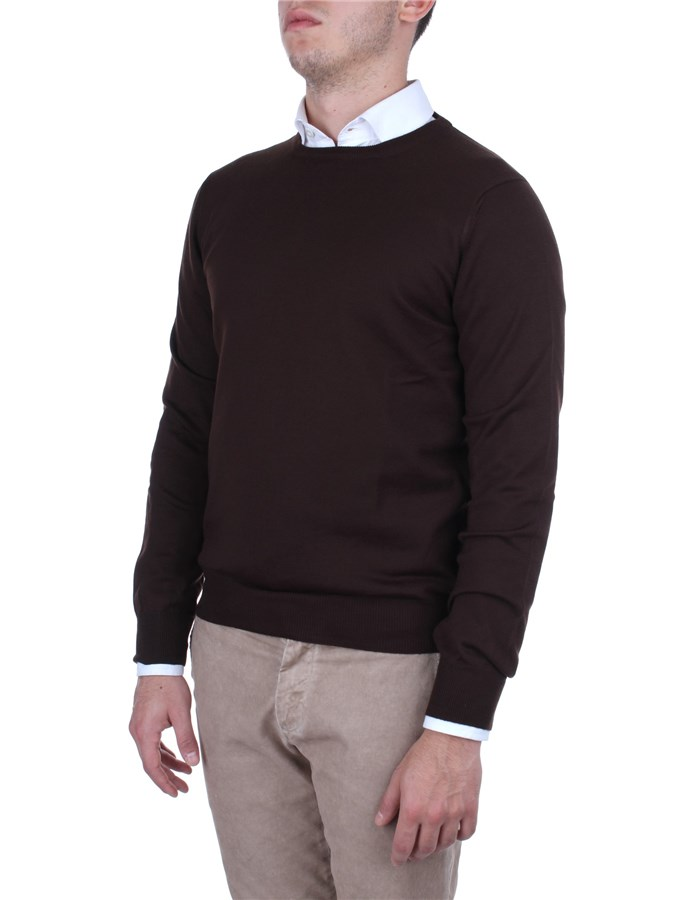 La Fileria Sweaters Brown