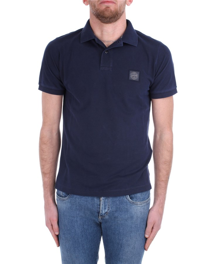 Stone Island Short sleeves MO721522S67 Blue