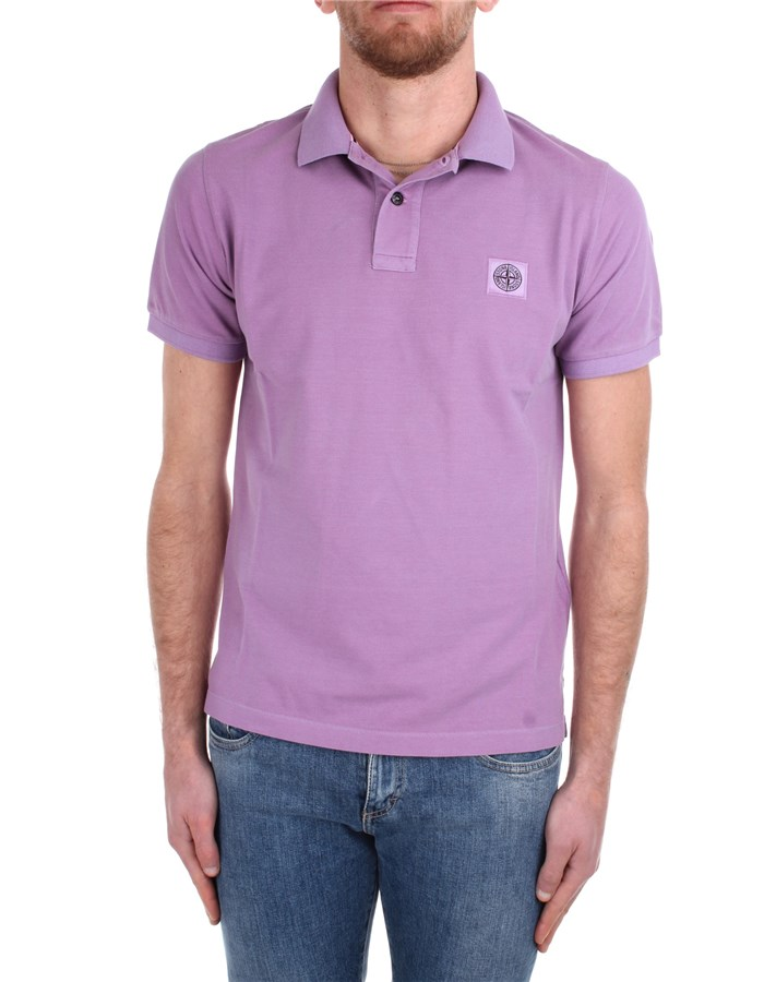 Stone Island Short sleeves MO721522S67 Rose