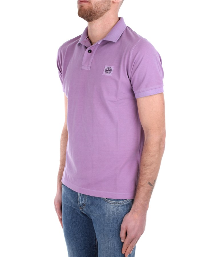 Stone Island Short sleeves Rose