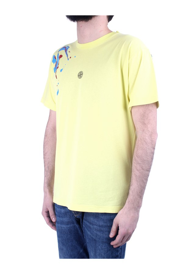 Stone Island Short sleeve Yellow