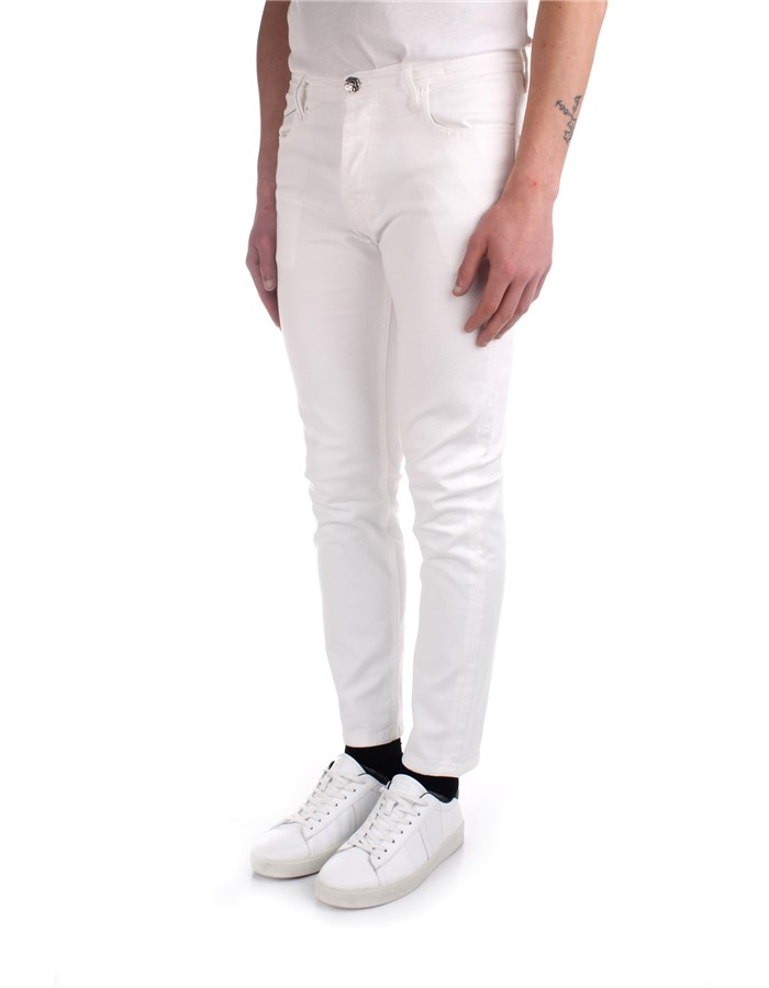 Re-hash Trousers White