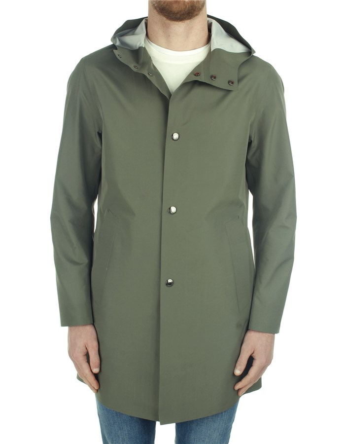 Kired raincoats Green